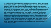 DISCURSO DE SERGIO AROUCA NA OITAVA CONFERÊNCIA NACIONAL DE SAÚDE