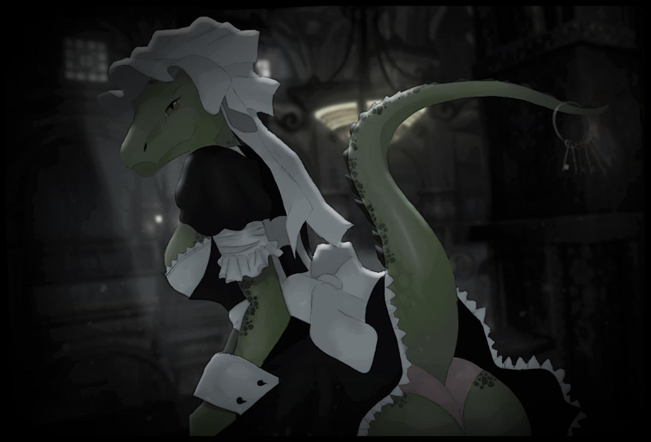 Eso Lusty Argonian Maid