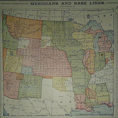1909-UNITED-STATES-LAND-SURVEYS-MAP