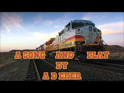 Rolling Down a Track          A .D.   Eker 2021