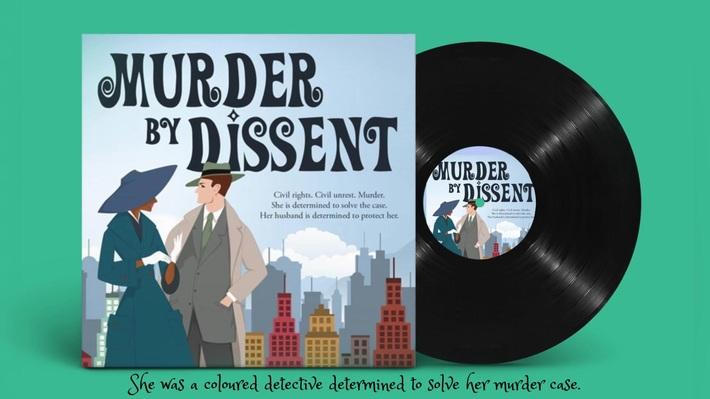Murder by Dissent teaser book trailer