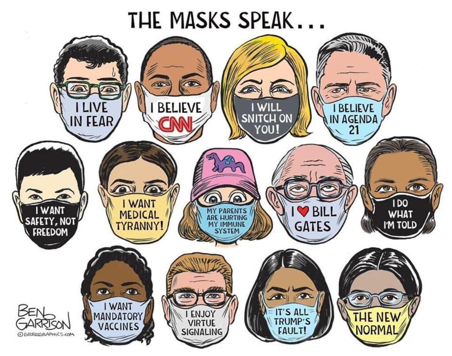 The Masks Speak