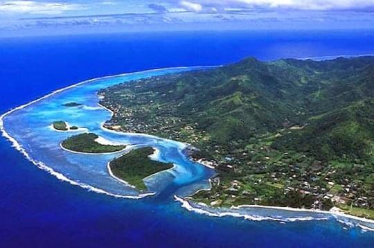 Muri Lagoon Rarotonga Cook Islands