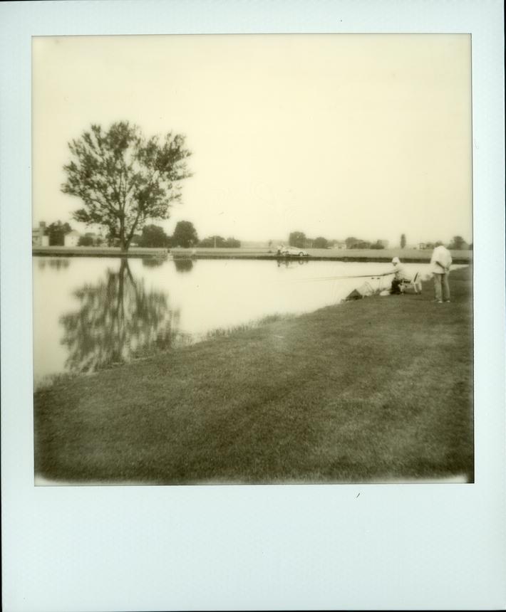 Pescatore e spettatore (Umarell)