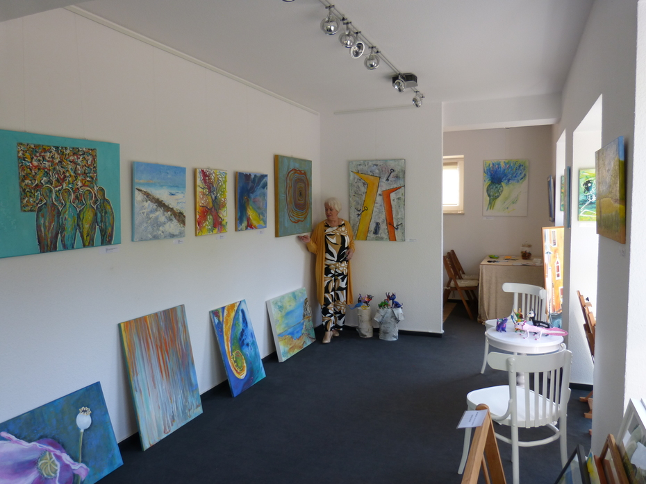 in meiner Galerie mit eigenen Bildern