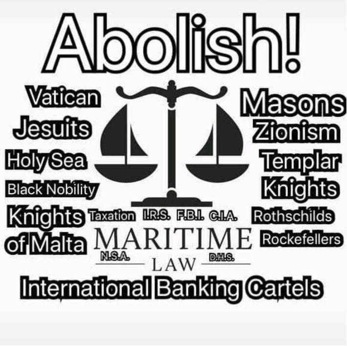 Abolish these Evil Fuckers