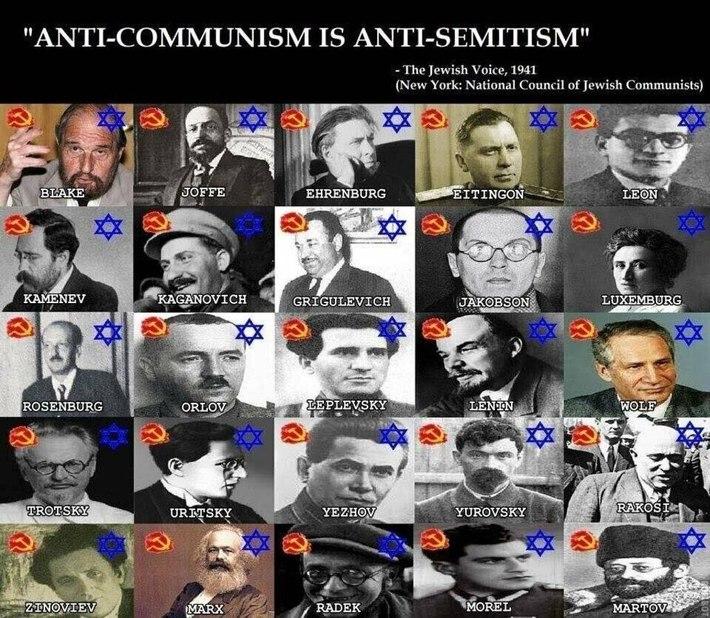 Anti-Communism is Anti-Semitism,kikes of deception