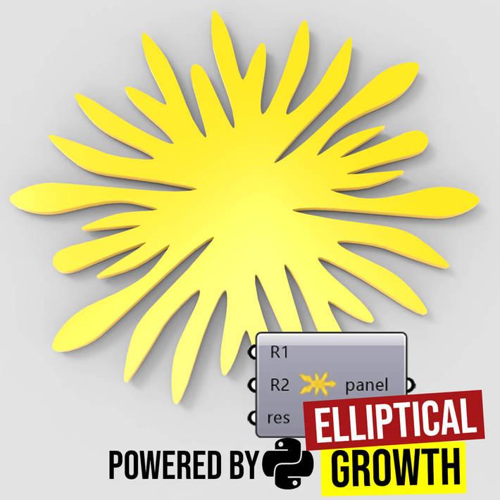 Elliptical Growth