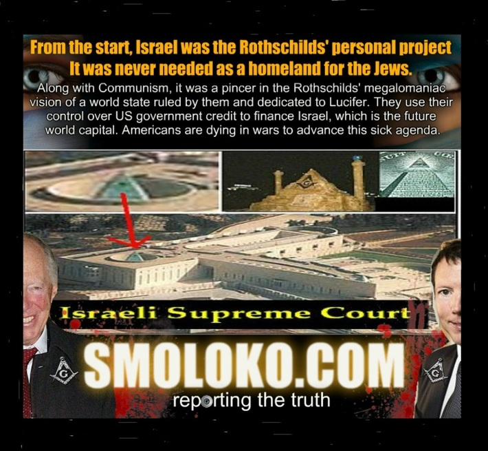 The Kikled Luciferian Plans for their Jew World Order