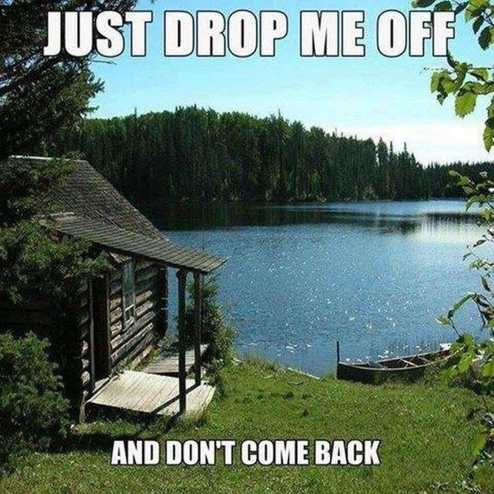 Just Drop Me Off, Then C-Ya
