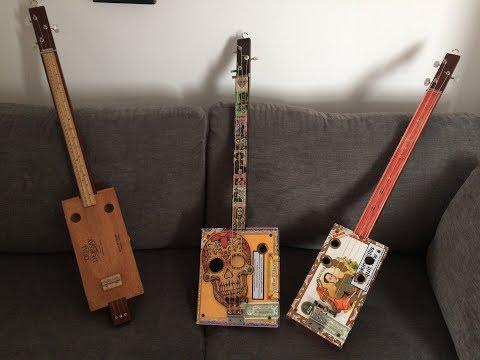 Bolivar 3 string acoustic guitar