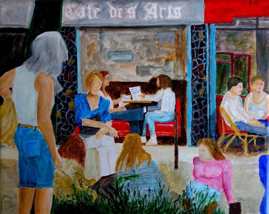 Place de la Contrescarpe - Café des Arts