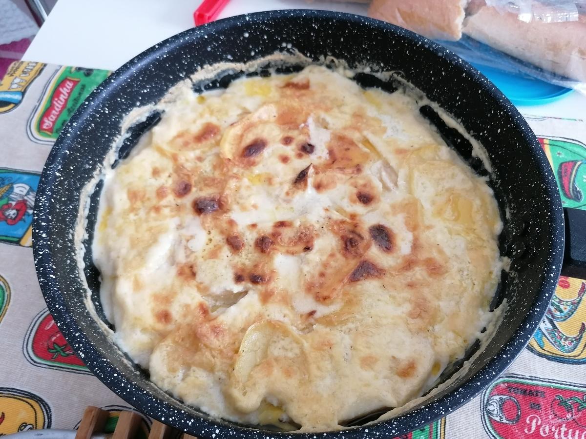 Receta de Gratin Dauphinois. Una deliciosa receta francesa de patatas gratinadas