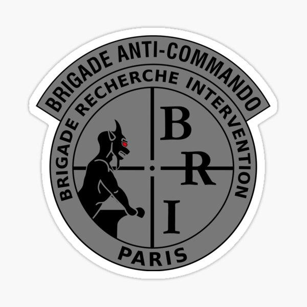 French police anti-gang squad emblem