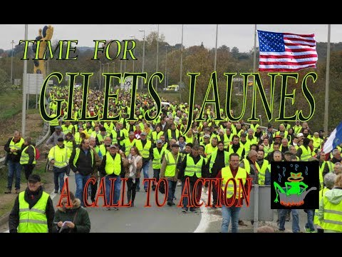 Gilets Jaunes for the USA  Watch related Headlines with a Voice 1/29/2019