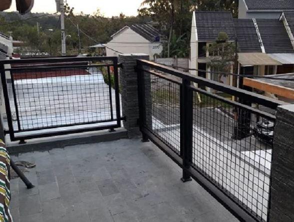 3 Desain Pagar Balkon Inspirasi