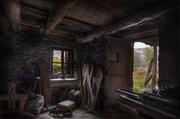 vecchia segheria abbandonata