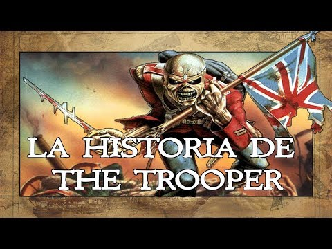 ¿Qué historia cuenta The Trooper de Iron Maiden? | #Ironmaiden