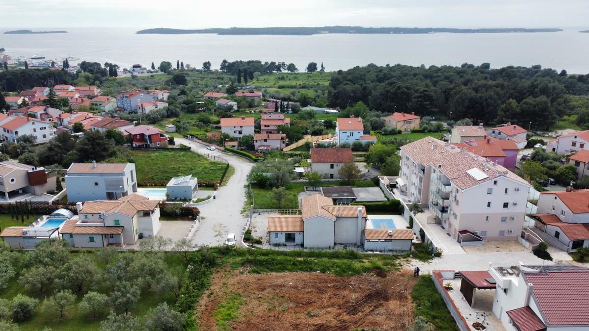 Fažana Građevinsko Zemljište s pogledom na more, Istra