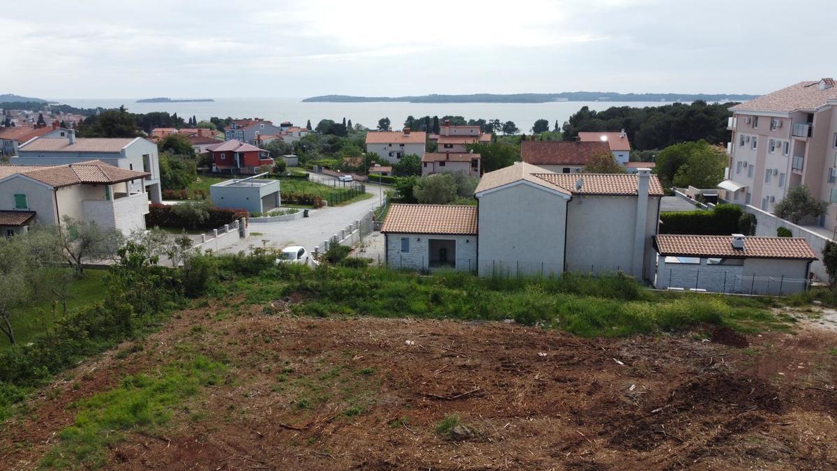Fažana Građevinsko Zemljište u blizini mora, pogled na more, Zemljišta Istra
