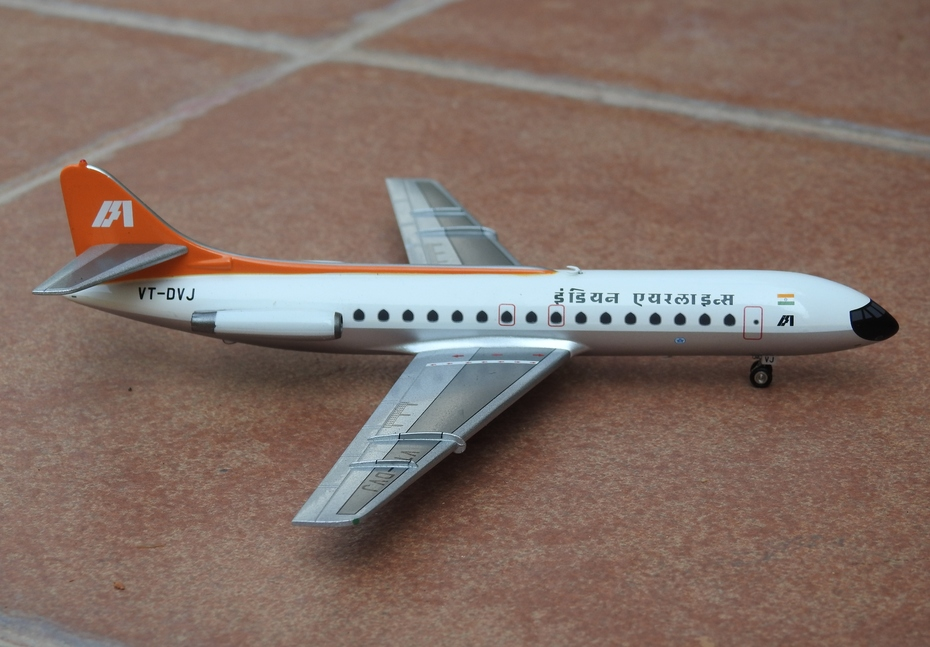 Inflight200 Indian Airlines Caravelle