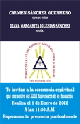INVITACION AL XLIII ANIVERSARIO