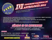 XVII Congreso Nacional de Astrología (Caracas, Venezuela).