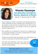 """Taller """"Los plantes Sanadores: Urano, Neptuno y Plutón"""" con Vicente Cassanya"""