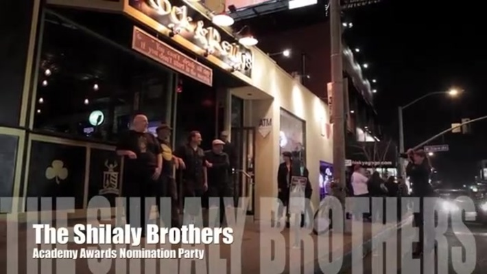 Shillaly Brothers 'Pop' Academy Awards Nomination Party
