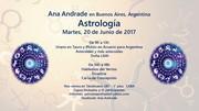 Astrología con Ana Andrade en Buenos Aires, Argentina
