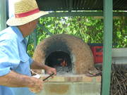 Cob-oven cooking