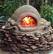 Baking with a Cob Oven