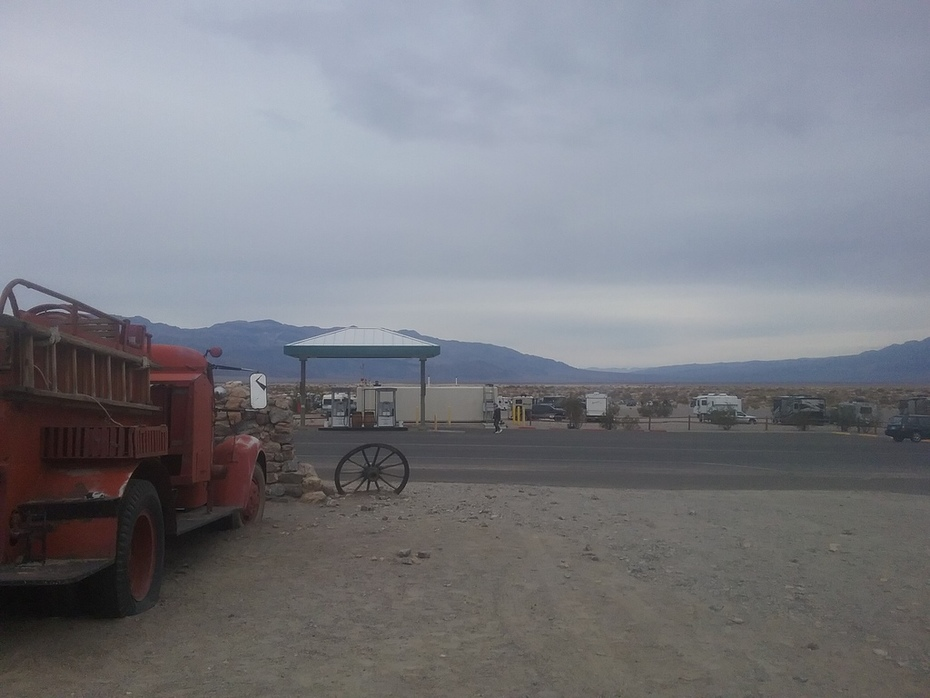 Cloudy day in Death Valley