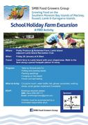 School Holiday Farm Excursion