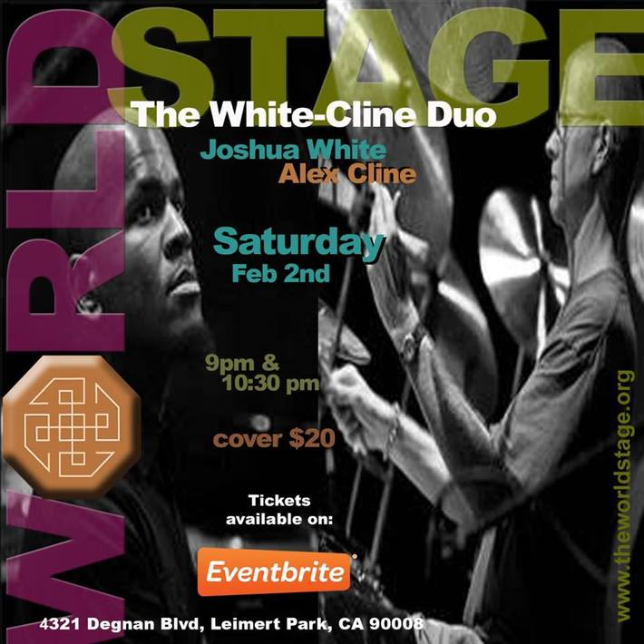 The WHITE-CLINE Duo @ The 'new' World STAGE