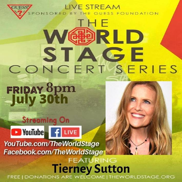 """TIERNEY SUTTON """"9-time Grammy Nominated Jazz Vocalist"""" From: The 'new' World STAGE *updatez* [viewable-archive]"""