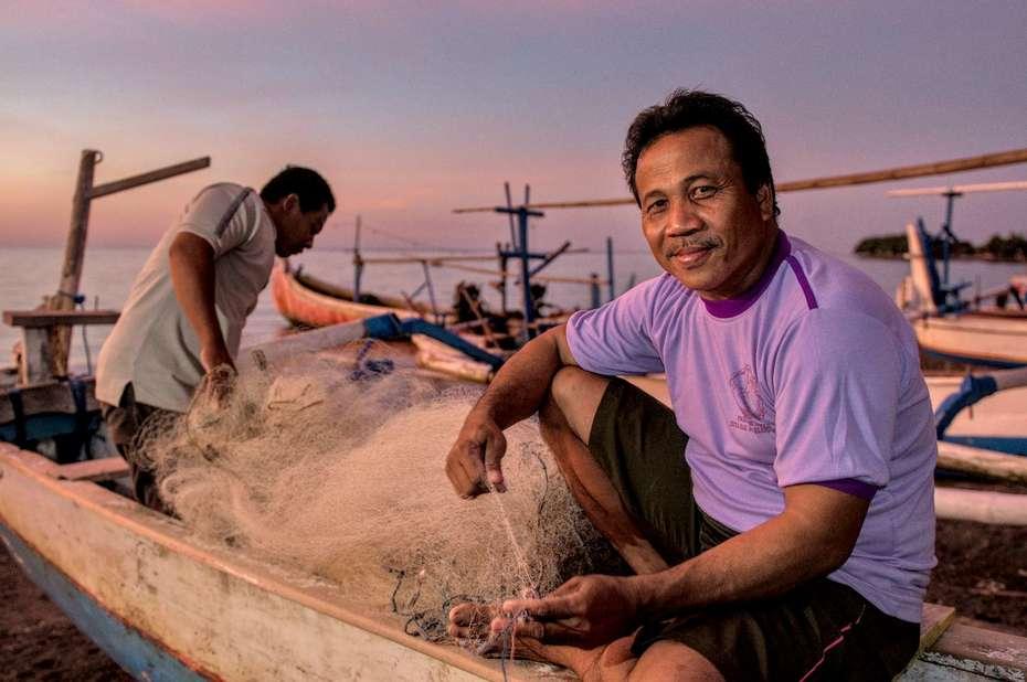 Bali, Indonesia - Fisherman