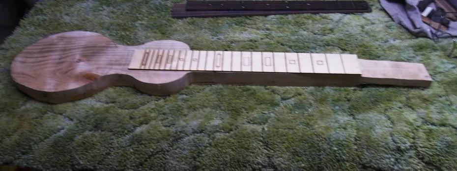 Starting a 6 string Cherry plank lap steel