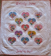 Everly's Quilt 2017