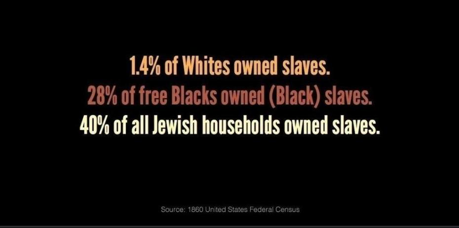 Who owned the slaves in those days
