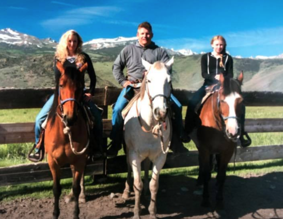 Bonnie Morrow and Family Fun at Hunewell Ranch
