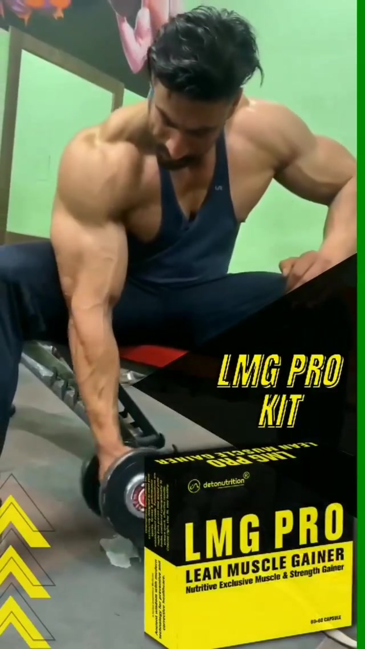 Lean Muscle Gainer Kit - Best Supplements for Muscle Gain and Strength Booster