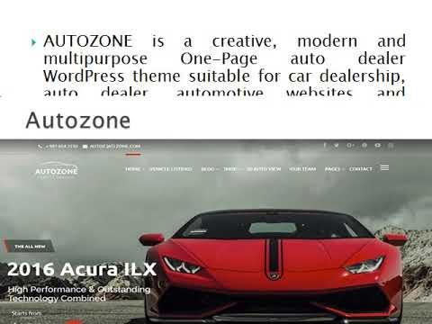 Automotive Car Dealership Business Wordpress Theme Wp Web Themes