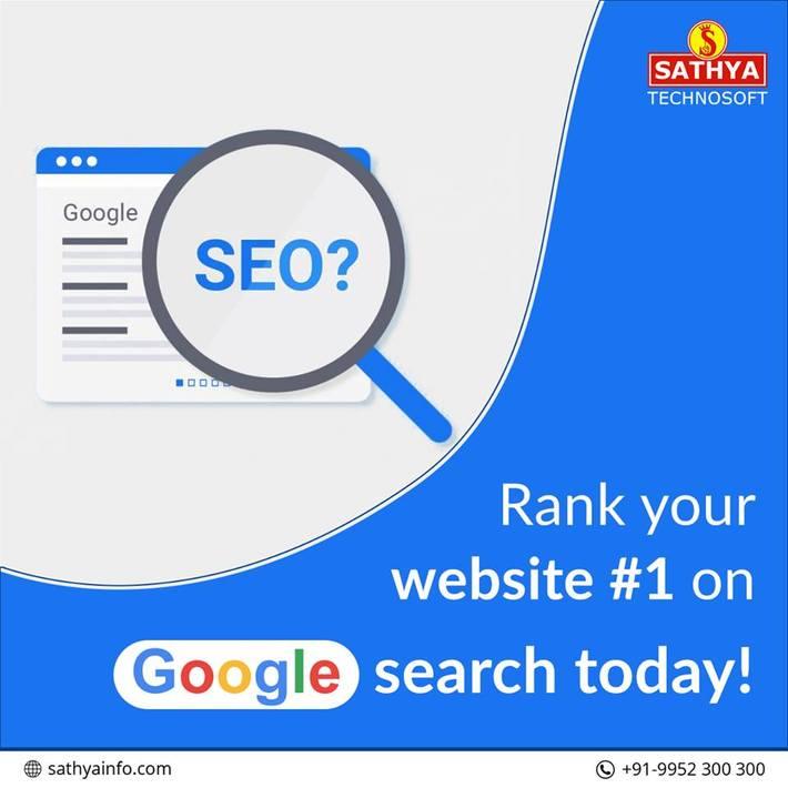 SEO Agency India - Sathya Technosoft