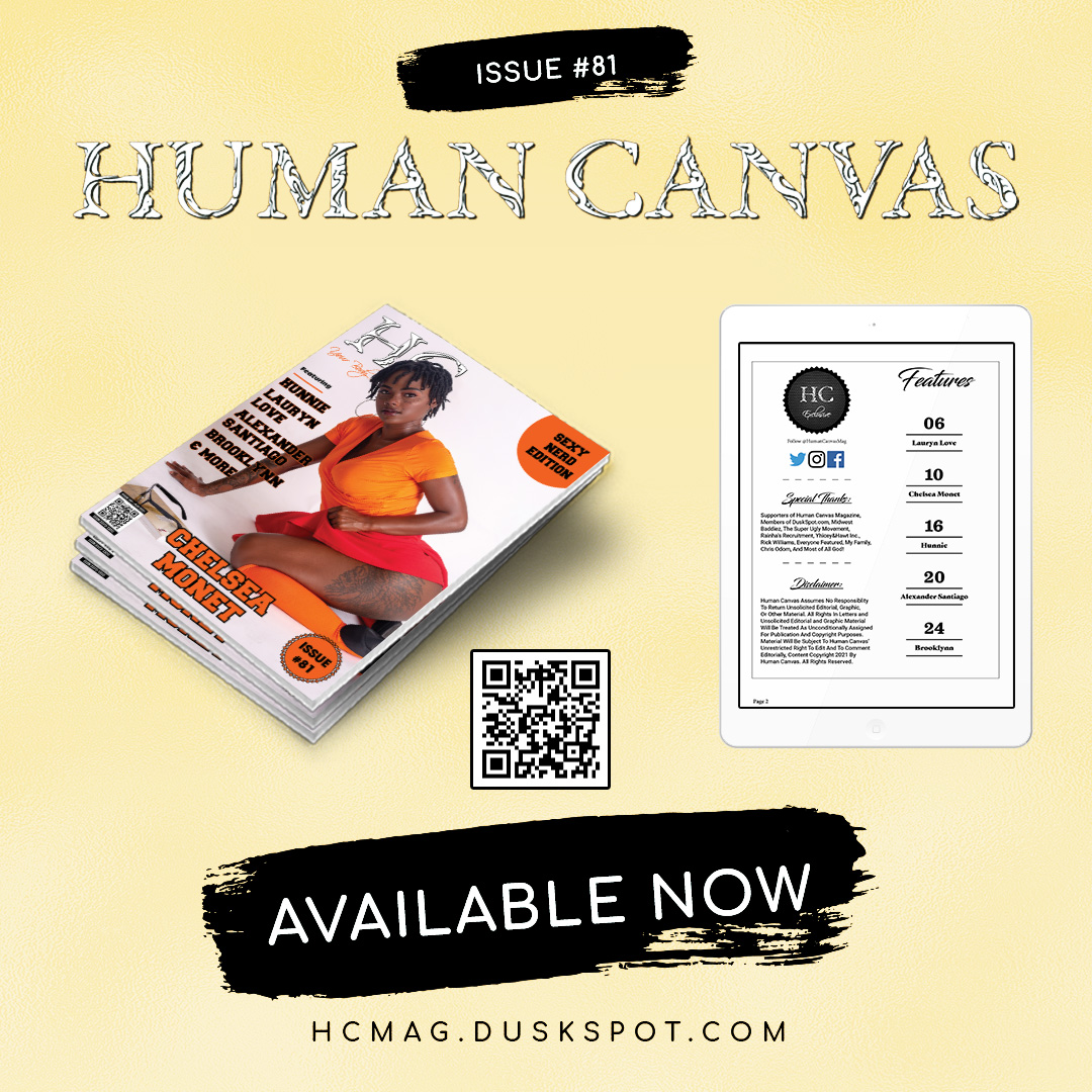 Human Canvas Magazine - Issue #81