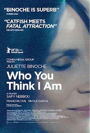 WHO YOU THINK I AM Starring Juliette Binoche Opens September 3
