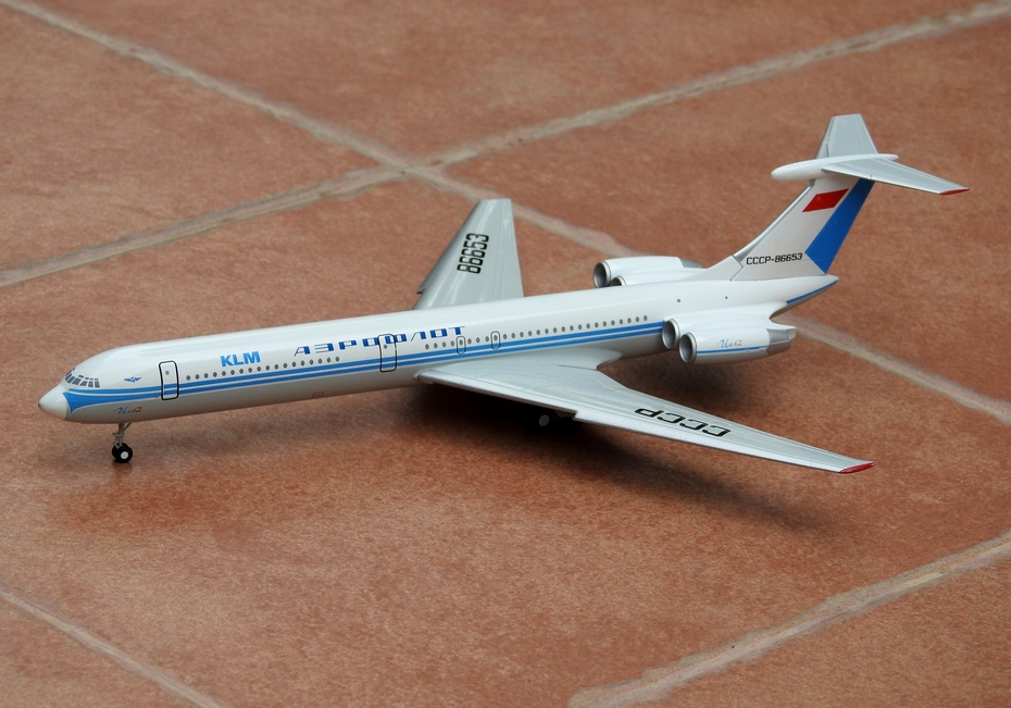 1:200 Aeroflot/KLM IL-62