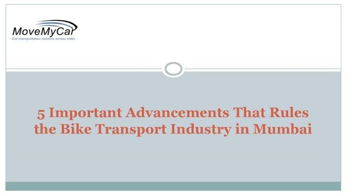 We Provide The Verified Bike Transportation Services in Mumbai