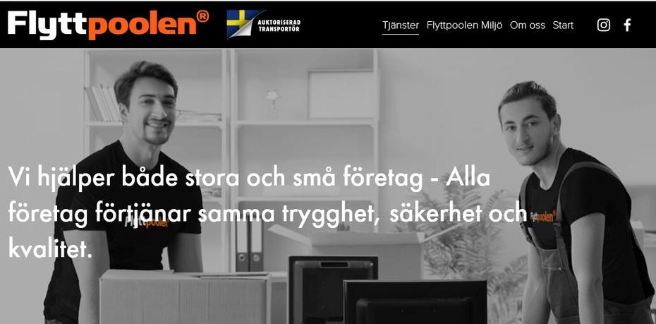 Företagsflytt Stockholm | Flytt av tunga saker | Flyttpoolen