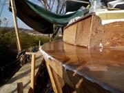 deck glassing
